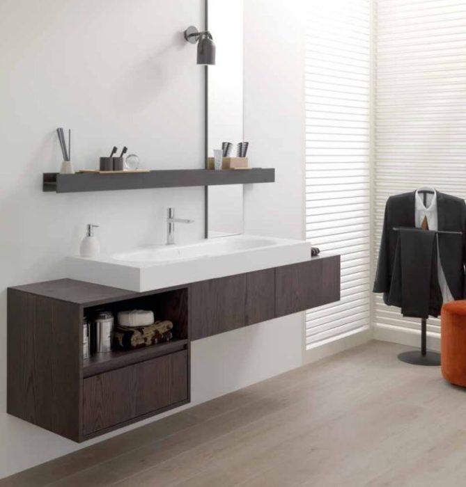 meuble salle de bain porcelanosa